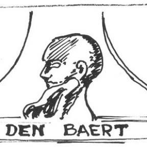 Uithangteken 'Den Baert', Botermarkt, tekening, J.P. Proesmans (uit: Hasselt intra muros (1989), p. 205)