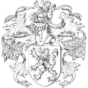 Familiewapen Hoelen (uit: Het Belang van Limburg, 03-07-1982, p. 37)