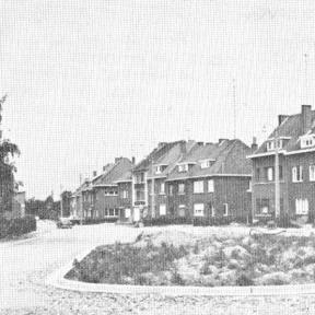 Kerkhofstraat (uit: De Hasselaar, 1964, nr. 33)
