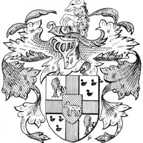 Familiewapen Lambrechts (uit: Het Belang van Limburg, 19-05-1973, p. 14)