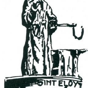 Uithangteken 'Sint-Eloy', tekening, J.P. Proesmans (uit: Hasselt intra muros (1989), p. 169)