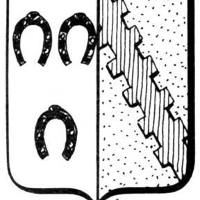 Familiewapen Marchal (uit: Het Belang van Limburg, 06-09-1975, p. 27)