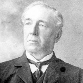 Portretfoto Hyacint Martens (1847-1919) (uit: Stevoort ... warm aanbevolen (2002), p. 30)