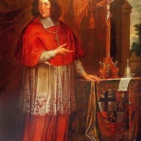 Prins-bisschop Maximiliaan Hendrik van Beieren (1621-1688), olieverfportret, anoniem, 2de helft 17de eeuw (waarschijnlijk ca. 1661) (collectie Het Stadsmus Hasselt)