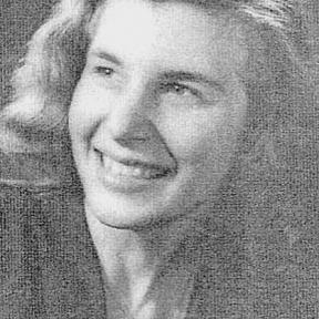 Portretfoto Godelieve Melis (Hasselt 1930-Antwerpen 2014) (collectie Koninklijke Vereniging van Limburgse Schijvers-KVLS)