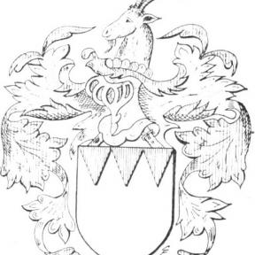 Familiewapen Vannes (uit: Limburgse families en hun wapen (1978), p. 130)