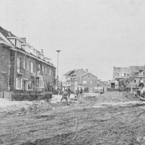 Werken in de Voorstraat (uit: De Hasselaar, 1964, nr. 33)