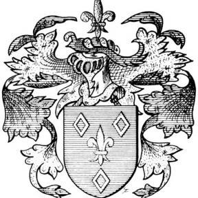 Familiewapen Vrancken (uit: Het Belang van Limburg, 08-09-1973, p. 16)