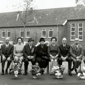 Gouden bruiloft Eyckmans (uit: Kuringen Sint-Jansheide Schimpen Tuilt Stokrooie / Warm aanbevolen (2004))