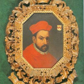 Prins-bisschop Gerard van Groesbeek (1517-1580), olieverfportret (collectie Bisdom Luik)