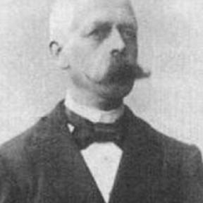 Portretfoto Alexis Pierloz (Hasselt 1853-1919)