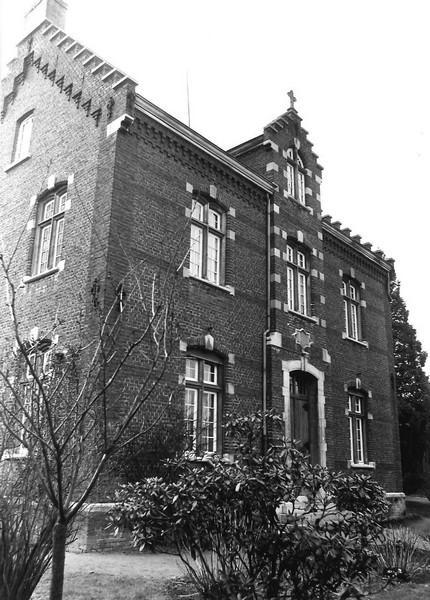 Oude pastorie Stevoort, Alkenstraat 5 (foto: Inventaris Onroerend Erfgoed - Frieda Schlusmans, 1976 - Vlaamse Gemeenschap)