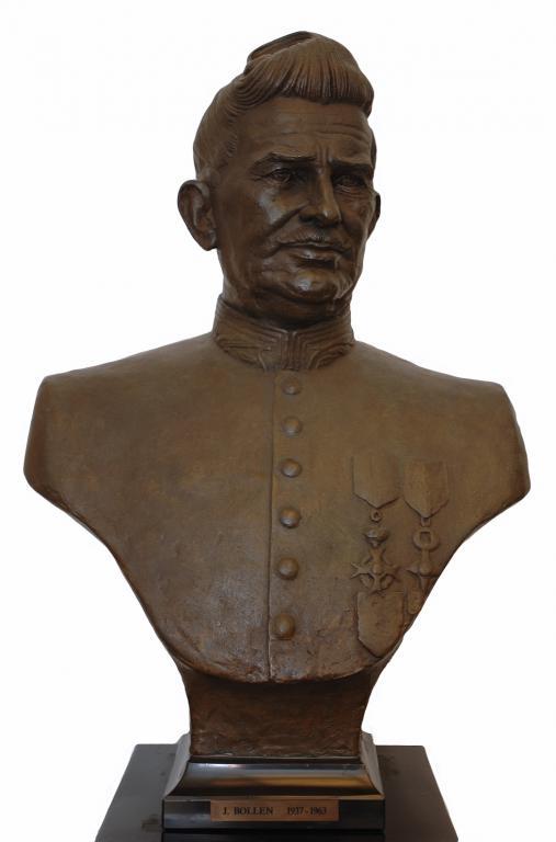 Buste Jozef Bollen, brons, Gerard Moonen (collectie Het Stadsmus)