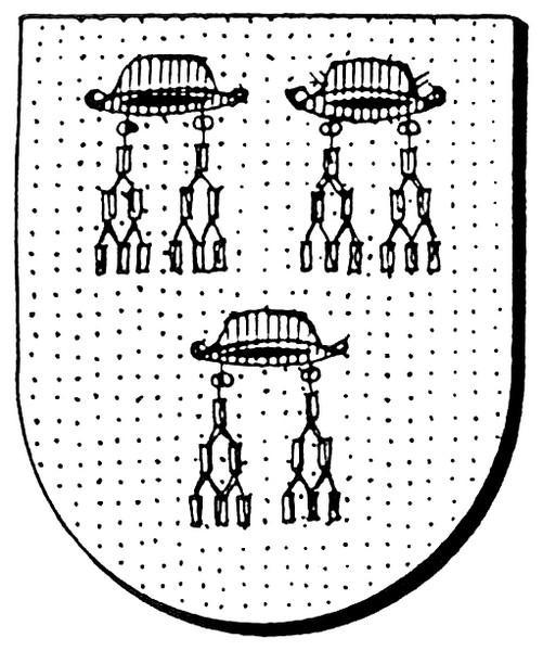 Familiewapen (de) Borman (uit: Oog in Oog (2003), p. 102)