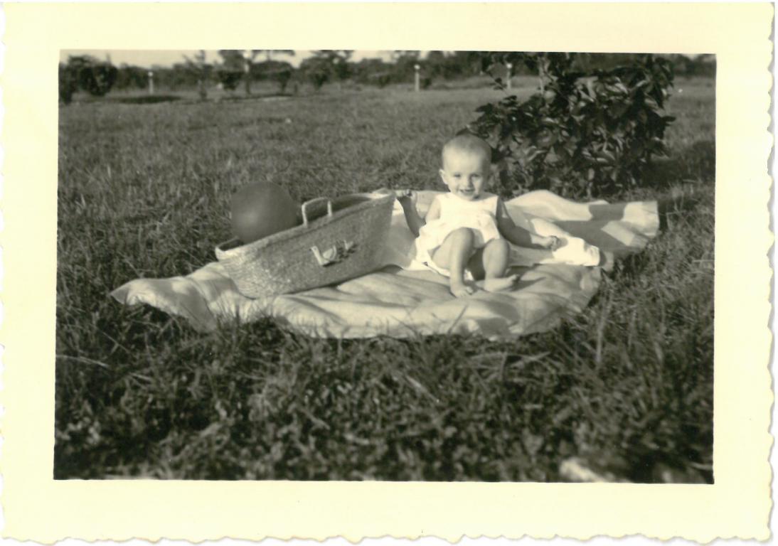Susan Billen, 1954 (foto: privécollectie)