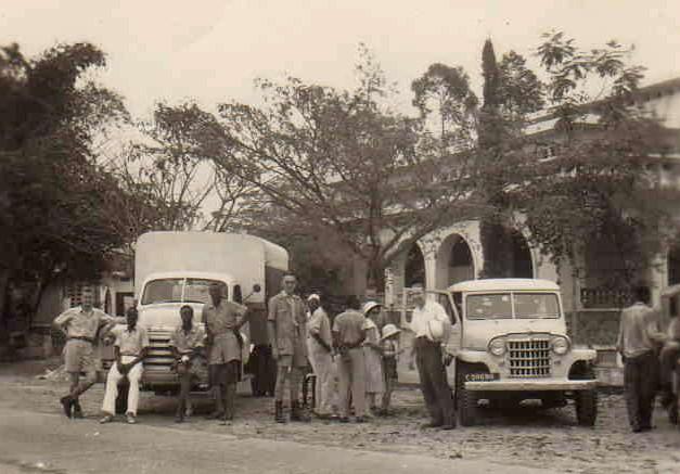 Familie Melotte-Coenen in Congo, 1953-1956 (foto: privécollectie)