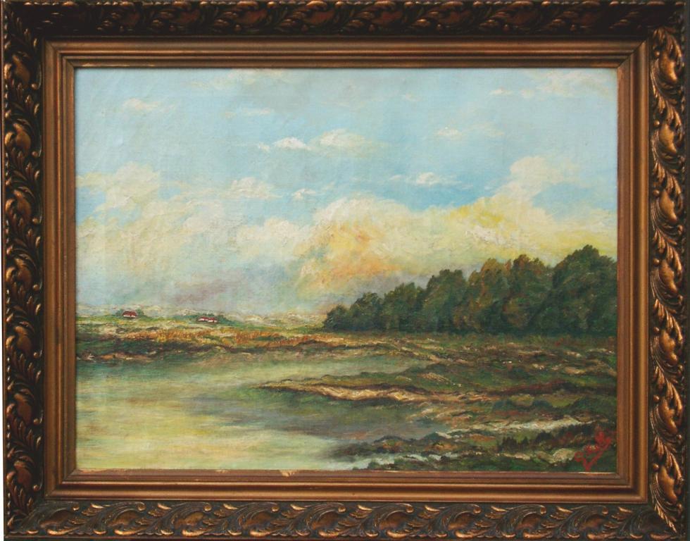 Landschap, Georges Kolb (1889-1969) (collectie Het Stadsmus Hasselt, inv.nr. 2006.0124.00)