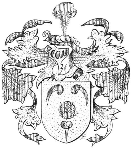 Familiewapen Pluymers (uit: Het Belang van Limburg, 09-06-1973, p. 29)