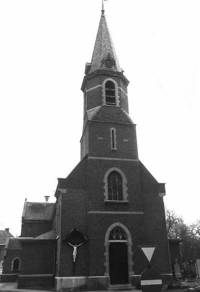 Sint-Niklaaskerk Wimmertingen (uit: Inventaris van het cultuurbezit in België (1981), fig. 1047 - Frieda Schlusmans, 03-1976 - Vlaamse Gemeenschap)
