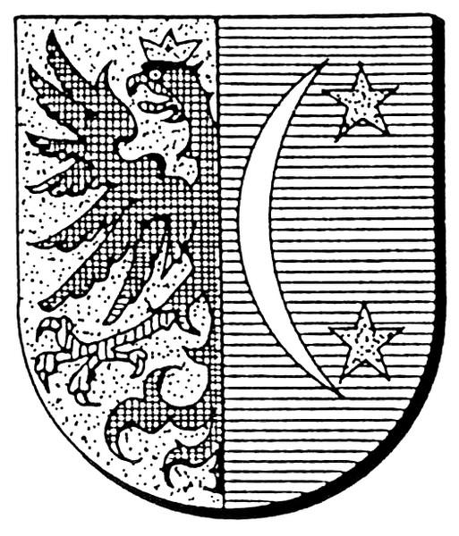Familiewapen Stellingwerff (uit: Oog in Oog (2003), p. 266)