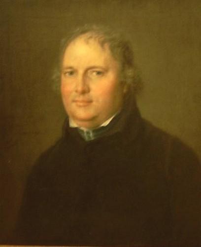 Olieverfportret pastoor-deken Vaesen N.G. (1768-1841), 1819, Melchior Gommaar Tieleman (collectie Het Stadsmus Hasselt)
