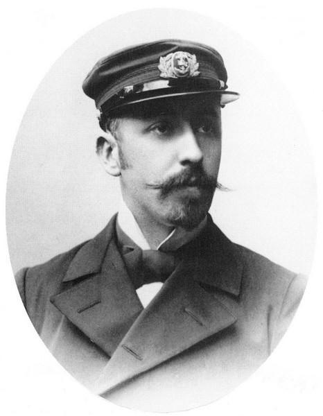 Portretfoto Adrien de Gerlache (1866-1934) (uit: Hasseltse Portretten (1997), p. 81)