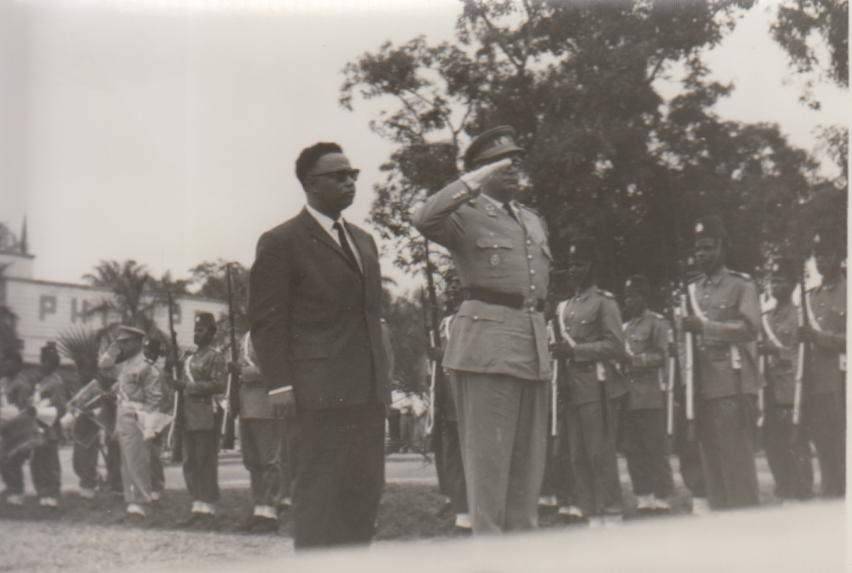 Familie De Wilde, Force Publique Congo, circa 1959, foto 6 (foto: privécollectie)