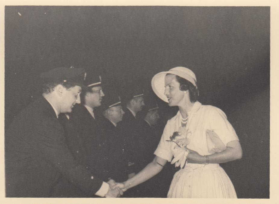 Familie De Wilde, vertrek van prinses Lilianne uit Stanleyville 6 april 1959, foto 2 (foto: privécollectie)