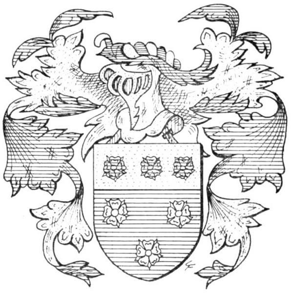 Familiewapen van Laureten (uit: Limburgse families en hun wapen (1978), p. 126)
