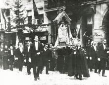 Virga Jesseommegang 1912 - Broederschap van Onze-Lieve-Vrouw Virga (foto: collectie Virga Jessecomité)