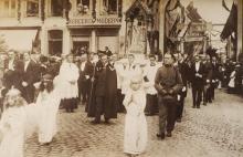 Virga Jesseommegang 1919 - Broederschap van Onze-Lieve-Vrouw Virga (foto: collectie Virga Jessecomité)