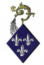 Wapen Catharina van Pipenpoye, abdis Herkenrode (1456-1491) (uit: Wapenboek (2004))