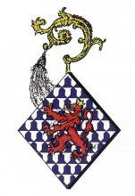 Wapen Gertrudis de Lechy, abdis Herkenrode (1491-1519) (uit: Wapenboek (2004))