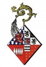 Wapen Mechtildis de Lechy, abdis Herkenrode (1520-1548) (uit: Wapenboek (2004))
