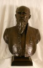 Borstbeeld burgemeester Guillaume Stellingwerff (1841-1923), brons, Emile Cantillon (1859-1917) (collectie Het Stadsmus Hasselt)