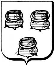 Familiewapen Bemelmans (uit: Het Belang van Limburg, 12-05-1979, p. 43)