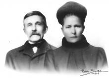 Joannes Berten en Philomena Vanstraelen, ouders van Louis Berten