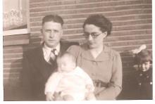 Louis Berten met zijn echtgenote Pauline Quintens, 1940 (uit: privécollectie)