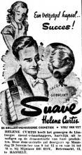 Advertentie 'Demonstratie Helene Curtis bij De Roy', Botermarkt 12 (uit: Het Belang van Limburg, 19-11-1949, p. 12)