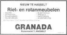 Advertentie 'Granada', Botermarkt 7 (uit: Het Belang van Limburg, 10-12-1982, p. 4)
