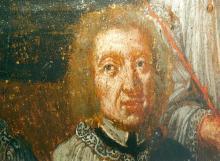 Portret Tilman-Joris Alen (uit: Broederschapspaneel O.-L-Vrouw Virga Jesse, 1709 - collectie Het Stadsmus Hasselt)