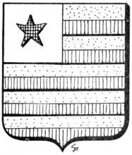 Familiewapen Crauwels (uit: Het Belang van Limburg, 25-10-1975, p. 31)