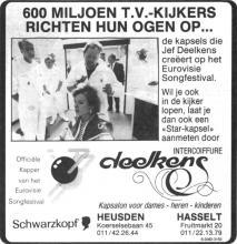 Advertentie 'Intercoiffure Deelkens', Fruitmarkt 20 (uit: Het Belang van Limburg, 09-05-1987, p. 25)