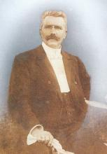 Portret Guillaume Fryns (1853-1909) (collectie Jenevermuseum Hasselt)