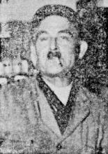 Dat is Leopold Quinten, de garde met de riek (uit: Dat was de Garde Civique (24) / Zo vluchtten de eerste Uhlanen als Hinden (1954))