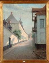 Stokerij Elens, Gasthuisstraat, Guillaume Ballewijns (collectie Jenevermuseum Hasselt)