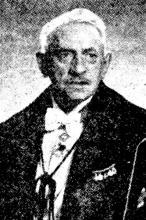 Portretfoto Jan Gessler (1878-1952) (uit: Prof. Dr. Jan Gessler (1959))