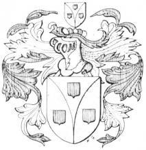 Familiewapen Goetsbloets (uit: Limburgse families en hun wapen (1984), p. 52)