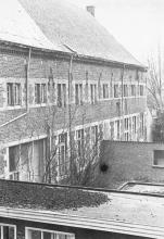Grauwzustersklooster, vleugel uit 1664 (uit: 52 waardevolle Hasseltse gebouwen en monumenten (1977), nr. 50)