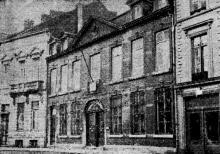 'Het oud huis Hayen op de Havermarkt te Hasselt, waarin het Instituut voor Mijnhygiëne zal worden ondergebracht' (uit: Het Belang van Limburg, 16-01-1947, p. 4)